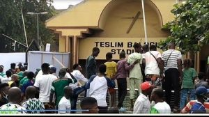 Video: Nigeria Vs Lesotho AFCON Qualifier: What Went Down At Teslim Balogun Stadium